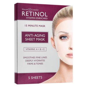 Retinol – Anti-aging sheet mask 5 pcs