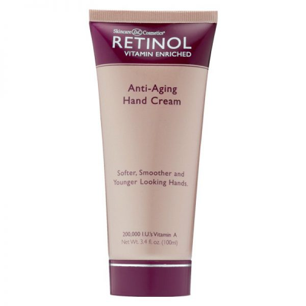 Retinol Anti-aging Hand Cream SPF 12 100 ml